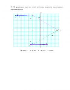 Решение задания №3, Расчет трехфазной электрической цепи, Вариант 8, БГАУ