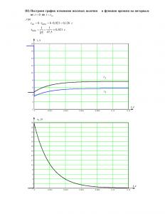 Домашнее задание №3 «Переходные процессы в линейных цепях первого порядка», Вариант 10, РГУНиГ
