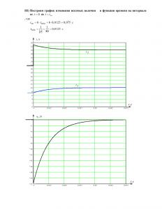 ДЗ №3 «Переходные процессы в линейных цепях первого порядка», Вариант 18, РГУНиГ
