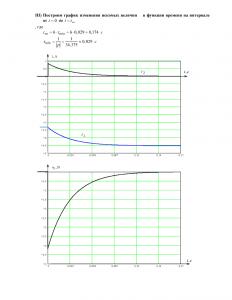 Домашнее задание №3 «Переходные процессы в линейных цепях первого порядка», Вариант 3, РГУНиГ