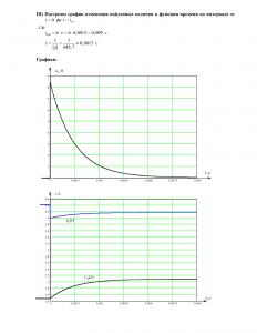 Домашнее задание №3 «Переходные процессы в линейных цепях первого порядка», Вариант 44, РГУНиГ