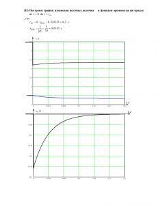 Домашнее задание №3 «Переходные процессы в линейных цепях первого порядка», Вариант 47, РГУНиГ