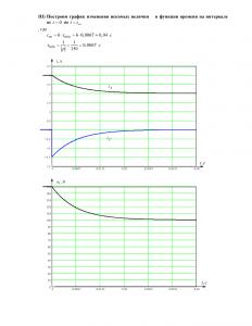 Домашнее задание №3 «Переходные процессы в линейных цепях первого порядка», Вариант 5, РГУНиГ