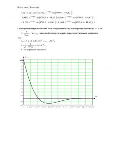 ТОЭ ДЗ №4 «Расчёт переходных процессов», Схема 5, Группа АЭ, МАДИ