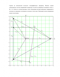 ДЗ «Расчёт трёхфазной цепи», Вариант 7, Схема 6, МИИТ