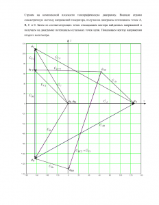 Расчёт трёхфазной цепи, Вариант 6, Схема 6, МИИТ