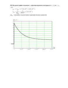 расчет переходных процессов в линейных электрических цепях, вариант 19, НГАВТ