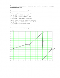 Расчет линейных электрических цепей постоянного тока, Рисунок 1.26, Вариант 4, КГСХА
