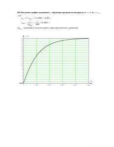 Задание №4 на расчет переходных процессов в линейных электрических цепях, вариант 3, НГАВТ