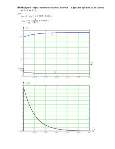 Решение домашнего задания №3 «Переходные процессы в линейных цепях первого порядка», Вариант 31, РГУНиГ