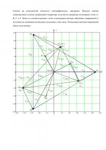 Решение домашнего задания «Расчёт трёхфазной цепи», Вариант 11, Схема 9, МИИТ