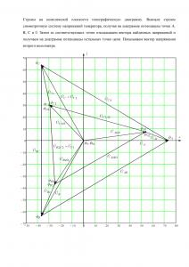 Решение домашнего задания «Расчёт трёхфазной цепи», Вариант 2, Схема 8, МИИТ