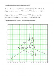 Решение домашнего задания «Расчёт трёхфазной цепи», Вариант 12, Схема 28, МИИТ