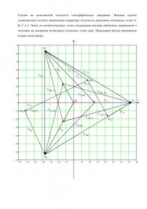Решение домашнего задания «Расчёт трёхфазной цепи», Вариант 3, Схема 15, МИИТ