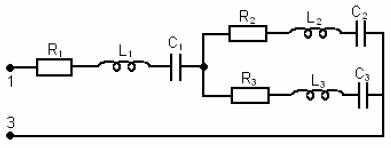 Рис.6. Электрическая схема для контрольного задания